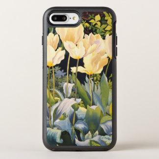 Coque OtterBox Symmetry iPhone 8 Plus/7 Plus Tulipes pâles