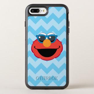 Coque OtterBox Symmetry iPhone 8 Plus/7 Plus Visage de sourire d'Elmo avec des lunettes de