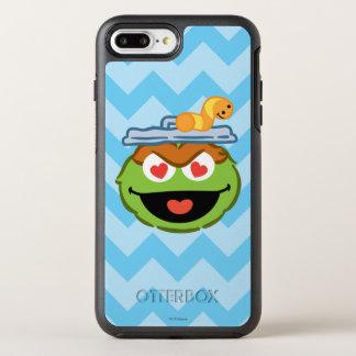 Coque OtterBox Symmetry iPhone 8 Plus/7 Plus Visage de sourire d'oscar avec les yeux en forme