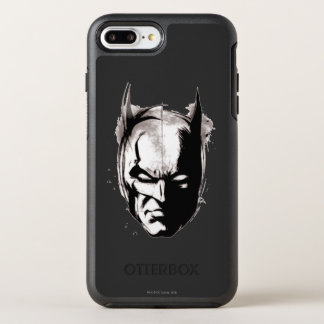 Coque OtterBox Symmetry iPhone 8 Plus/7 Plus Visage dessiné par Batman