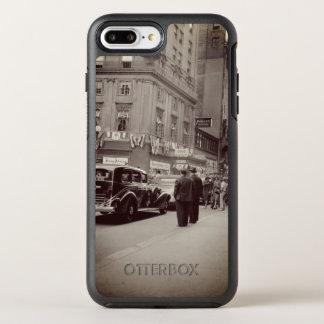 Coque OtterBox Symmetry iPhone 8 Plus/7 Plus Voiture de photographie des années 1930 d'hôtel de