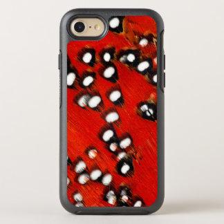 Coque Otterbox Symmetry Pour iPhone 7 Abrégé sur rouge plume de Tragopan