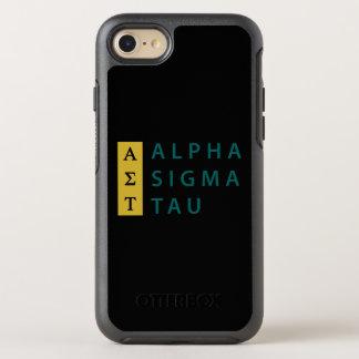 Coque Otterbox Symmetry Pour iPhone 7 Alpha Tau de sigma empilé
