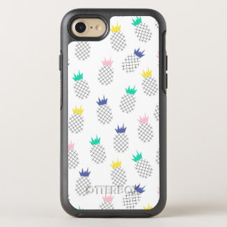 Coque Otterbox Symmetry Pour iPhone 7 Ananas abstraits