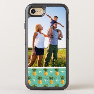 Coque Otterbox Symmetry Pour iPhone 7 Ananas de photo sur le motif géométrique