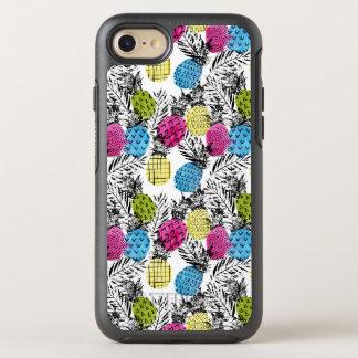 Coque Otterbox Symmetry Pour iPhone 7 Ananas et palmettes d'art de bruit