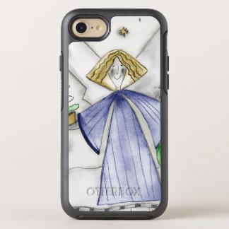 Coque Otterbox Symmetry Pour iPhone 7 Ange bleu de mod