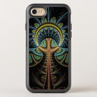 Coque Otterbox Symmetry Pour iPhone 7 Arbre de la vie abstrait coloré