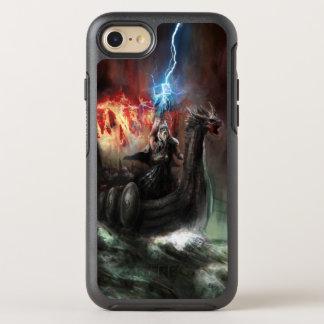 Coque Otterbox Symmetry Pour iPhone 7 Bateau de Viking de dragon