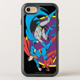 Coque Otterbox Symmetry Pour iPhone 7 Batman + Superman + Éclair