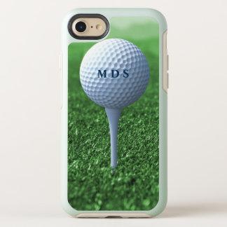 Coque Otterbox Symmetry Pour iPhone 7 Boule de golf sur le monogramme Otterbox de pièce