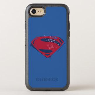 Coque Otterbox Symmetry Pour iPhone 7 Brosse de la ligue de justice | et symbole tramé