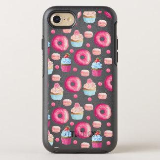 Coque Otterbox Symmetry Pour iPhone 7 Butées toriques Macarons et motif de petit gâteau