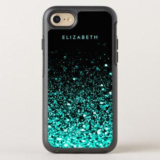 Coque Otterbox Symmetry Pour iPhone 7 Caisse turquoise de l'iPhone 7 de noir de