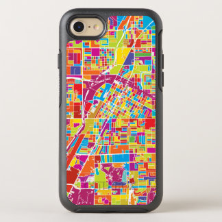 Coque Otterbox Symmetry Pour iPhone 7 Carte de Las Vegas coloré, Nevada