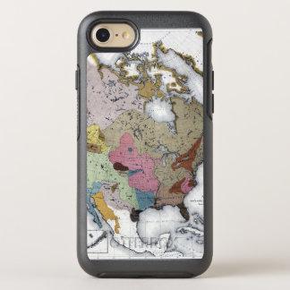 COQUE OTTERBOX SYMMETRY POUR iPhone 7 CARTE : INDIENS D'AMERIQUE 3