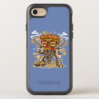 Coque Otterbox Symmetry Pour iPhone 7 Cas de téléphone d'Otterbox de bandit de pizza