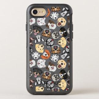 Coque Otterbox Symmetry Pour iPhone 7 Chiens de motif d'illustration