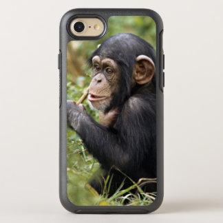 Coque Otterbox Symmetry Pour iPhone 7 Chimpanzé de bébé (troglodytes de casserole)