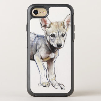Coque Otterbox Symmetry Pour iPhone 7 Chiot de loup Arabe d'hésitation 2009