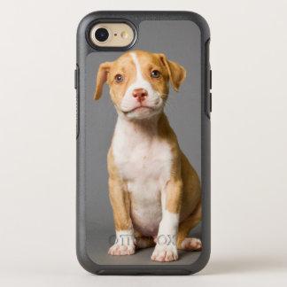 Coque Otterbox Symmetry Pour iPhone 7 Chiot de pitbull
