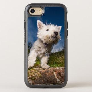 Coque Otterbox Symmetry Pour iPhone 7 Chiot des montagnes occidental de Terrier