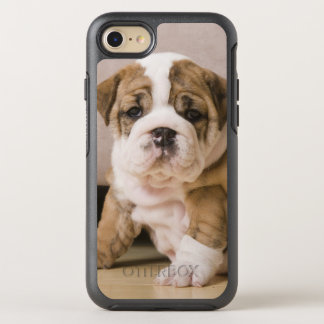 Coque Otterbox Symmetry Pour iPhone 7 Chiots anglais de bouledogue