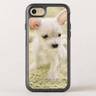 Coque Otterbox Symmetry Pour iPhone 7 Chiwawa et chiot maltais