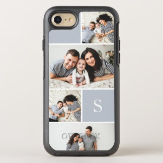 Coque Otterbox Symmetry Pour iPhone 7 Collage et monogramme de photo de Colorblock