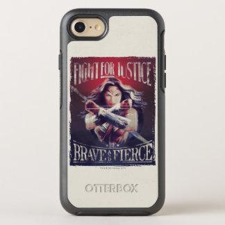 Coque Otterbox Symmetry Pour iPhone 7 Combat de femme de merveille pour la justice