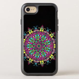 Coque Otterbox Symmetry Pour iPhone 7 Conception colorée de mandala