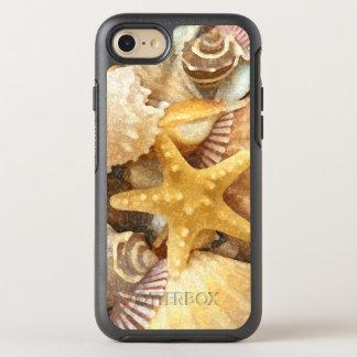 Coque Otterbox Symmetry Pour iPhone 7 Conception de coquillages de thème de plage