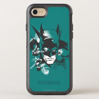 Coque Otterbox Symmetry Pour iPhone 7 Conception de crête de Batman