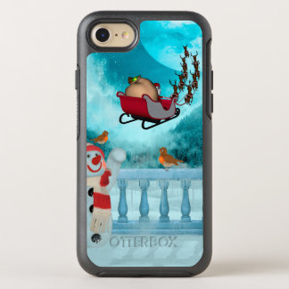 Coque Otterbox Symmetry Pour iPhone 7 Conception de Noël, le père noël