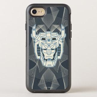 Coque Otterbox Symmetry Pour iPhone 7 Contour bleu de Voltron | Voltron et blanc