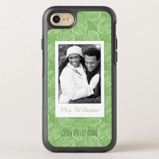 Coque Otterbox Symmetry Pour iPhone 7 Coquillages d'ensemble de photo et de nom