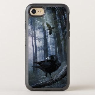 Coque Otterbox Symmetry Pour iPhone 7 Corneilles brumeuses de forêt