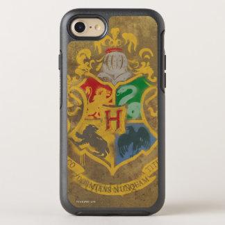Coque Otterbox Symmetry Pour iPhone 7 Crête rustique de Harry Potter | Hogwarts