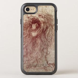 Coque Otterbox Symmetry Pour iPhone 7 Croquis d'un lion d'hurlement