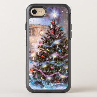 Coque Otterbox Symmetry Pour iPhone 7 Cru d'arbre de Noël