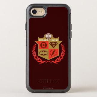 Coque Otterbox Symmetry Pour iPhone 7 Défenseurs de ligue de justice de la planète