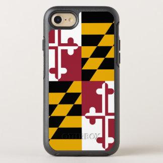 Coque Otterbox Symmetry Pour iPhone 7 Drapeau d'état du Maryland