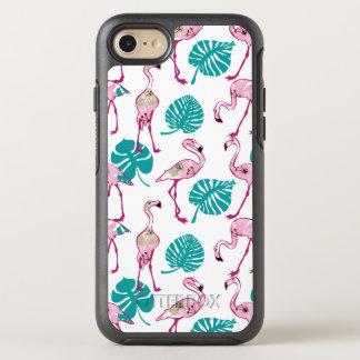 Coque Otterbox Symmetry Pour iPhone 7 Flamants roses