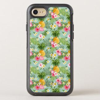 Coque Otterbox Symmetry Pour iPhone 7 Fleurs et ananas tropicaux