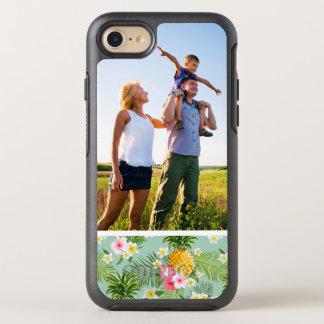 Coque Otterbox Symmetry Pour iPhone 7 Fleurs et ananas tropicaux de photo
