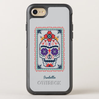 Coque Otterbox Symmetry Pour iPhone 7 Frida Kahlo | Calavera