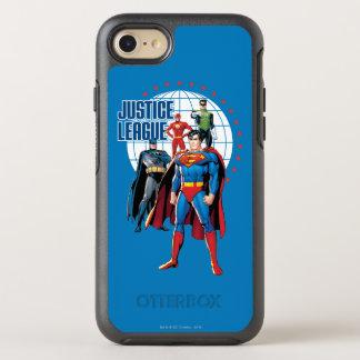 Coque Otterbox Symmetry Pour iPhone 7 Héros globaux de ligue de justice