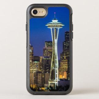 Coque Otterbox Symmetry Pour iPhone 7 Image d'horizon de Seattle en quelques heures de