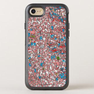 Coque Otterbox Symmetry Pour iPhone 7 Là où est la terre de Waldo des trames