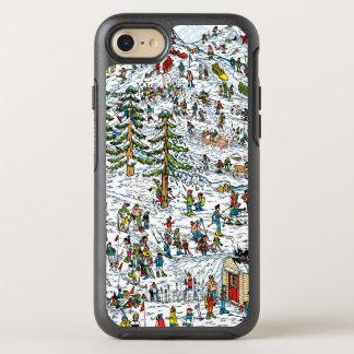Coque Otterbox Symmetry Pour iPhone 7 Là où est le ski de Waldo incline